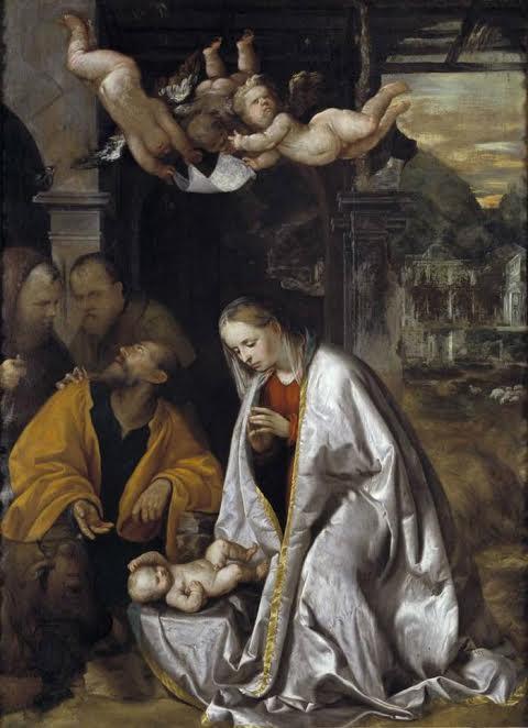 Джироламо Романини. Рождество Христово