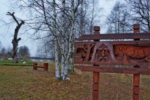 Калевала. Фото Ирины Ларионовой, побывавшей в рунопевческом крае в октябре