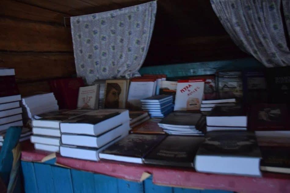 Книги карельских писателей в доме-музее Ортье Степанова