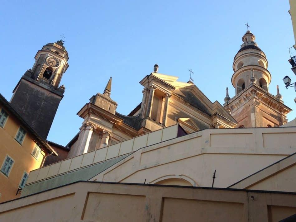 Ментон: католический собор Сен-Мишель