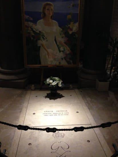 Могила Принцессы Монако. Фото Александры Озолиной