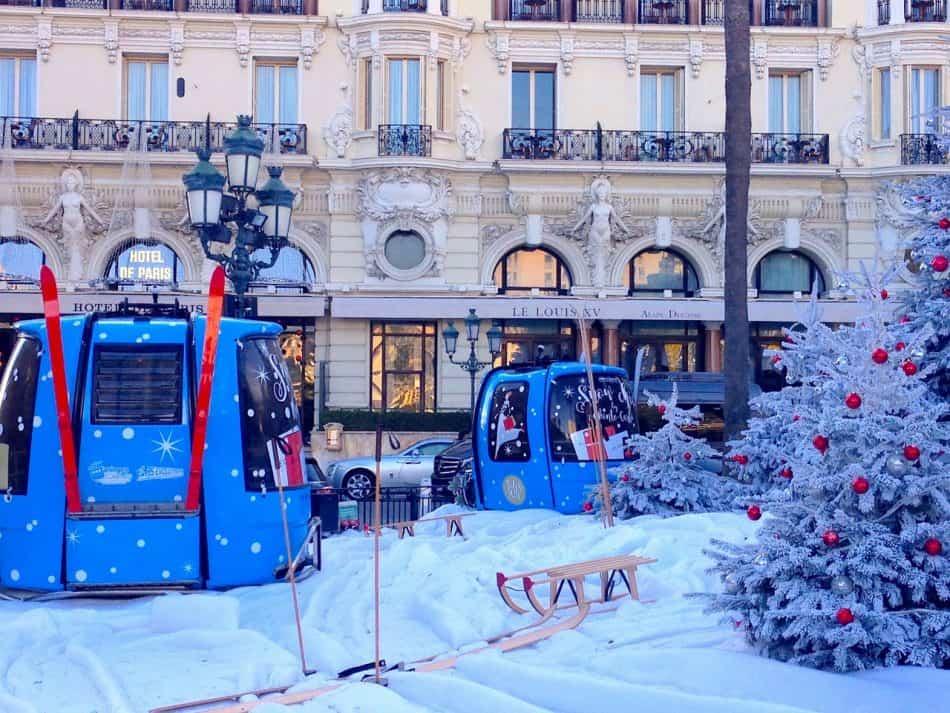 Рождество в Монте-Карло