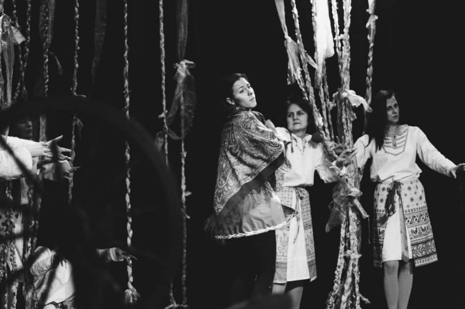 """""""Невеста ворона"""". Фото Марии Брусникиной"""