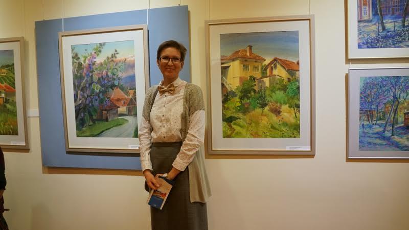 Юлия Коросова у своей сербской серии