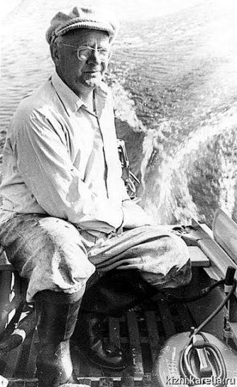 Первый директор музея-заповедника «Кижи» В.И. Смирнов