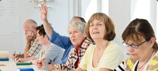 Пенсионерам помогают искать работу в Интернете