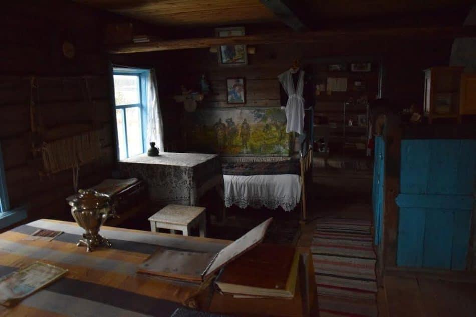 В первом доме, который удалось отреставрировать