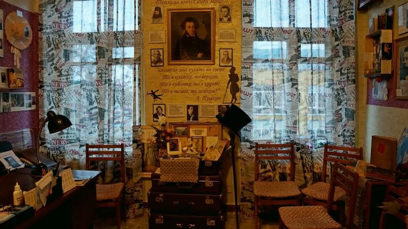 """Будущий музей """"Писательский кабинет"""""""