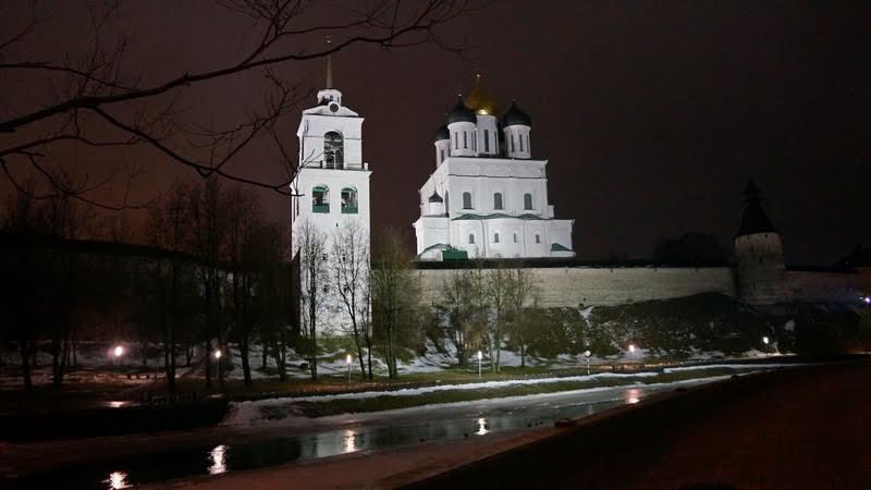 Псков. Фото Ирины Ларионовой