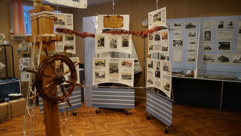 В музее Вениамина Каверина