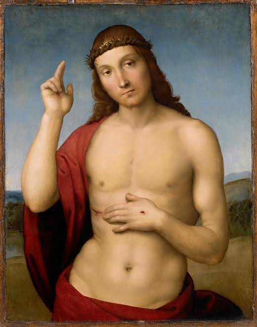 Рафаэль. Благословляющий Христос