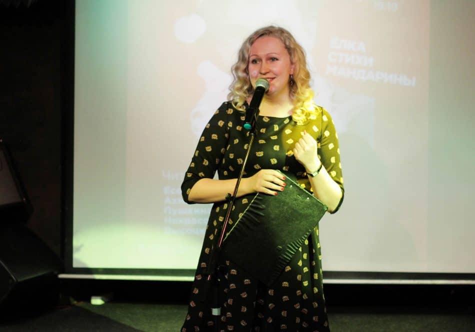 Саша Анискина, актриса Национального театра Карелии, - завсегдатай проекта
