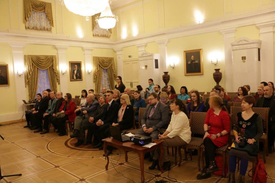 В зале Благородного собрания на церемонии награждения