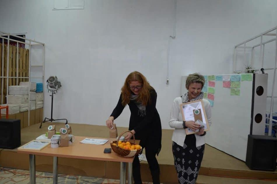 Светлана Кольчурина (слева) и Ольга Степанова