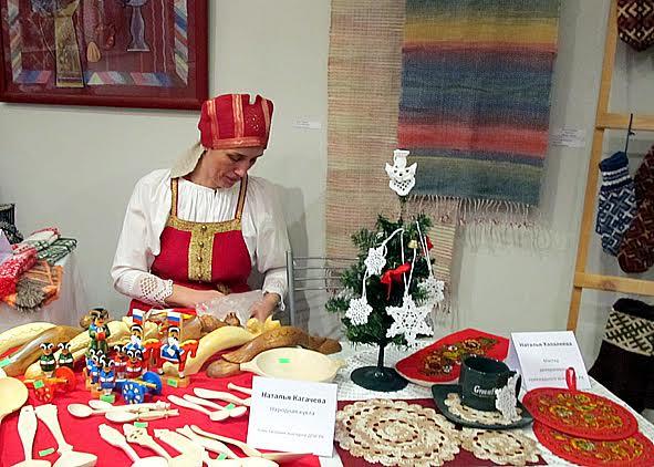 В Доме ремёсел открылась рождественская ярмарка