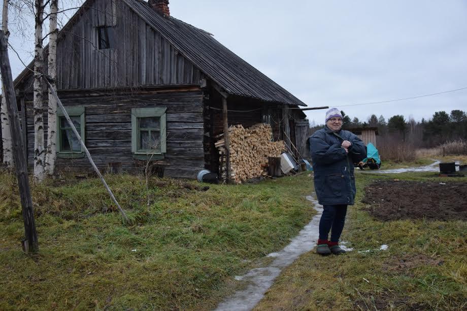 Жительница возрожденной деревни