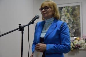 """Зинаида Ефлова на вечере, посвященном 25-летию """"Лицея"""""""