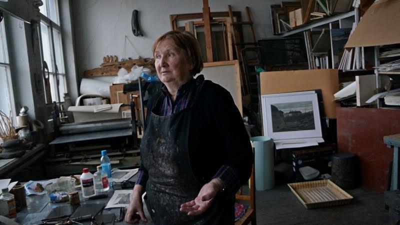В мастерской Ольги Юнтунен. Фото Ирины Ларионовой