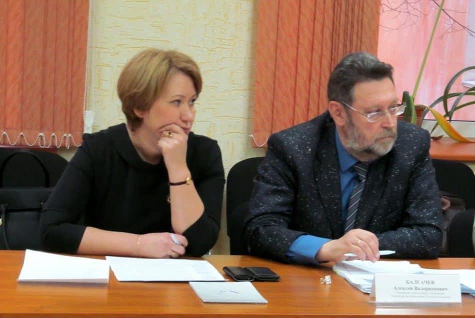 Любовь Иконникова и Алексей Балгачев