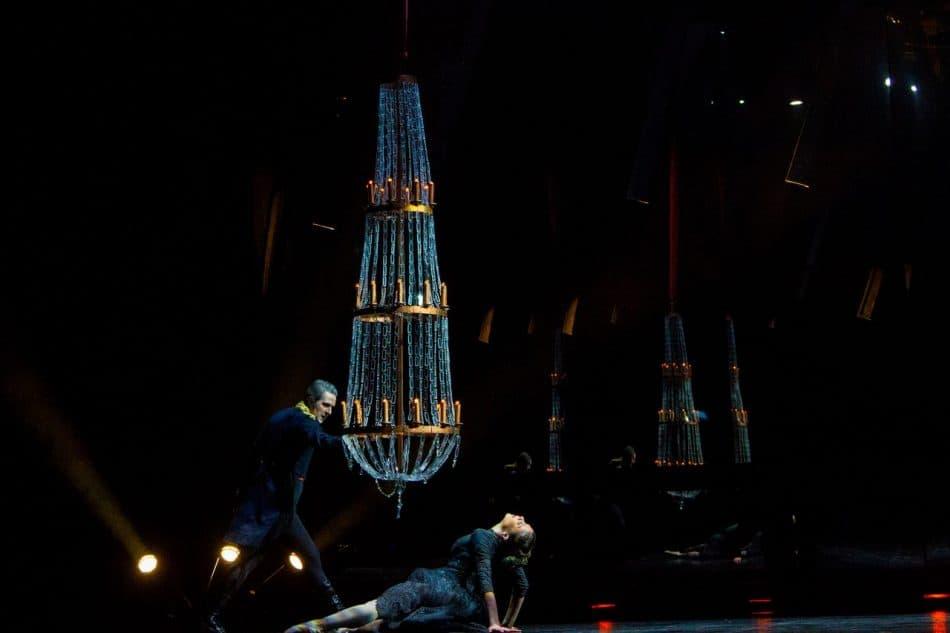 "Балет ""Анна Каренина"". Фото Музыкального театра РК"