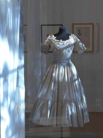 """Костюм из балета """"Призрак розы"""", в котором выступала Тамара Карсавина, коллекция Музея Виктории и Альберта, Лондон. Фото из архива Виллы Собер"""