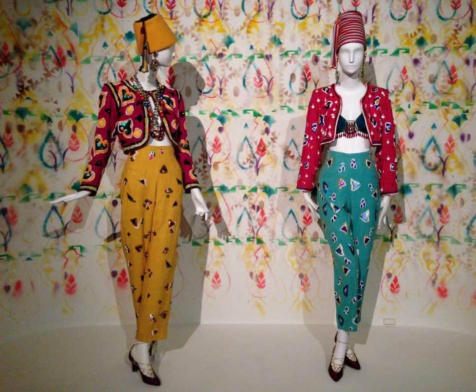 Коллекция Yves Saint Laurent весна-лето 1991-го, созданная под влиянием балетных костюмов Леона Бакста