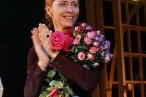 Виктория Федорова принимает поздравления
