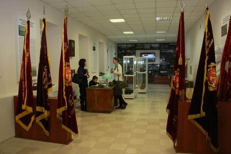 В Галерее промышленной истории Петрозаводска. Фото Ирины Ларионовой