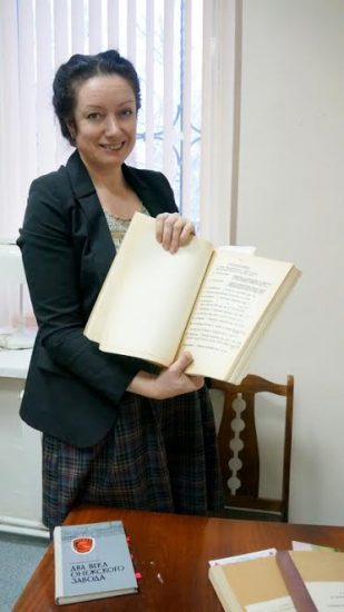 Виктория Никитина, директор Галереи промышленной истории. Фото Ирины Ларионовой