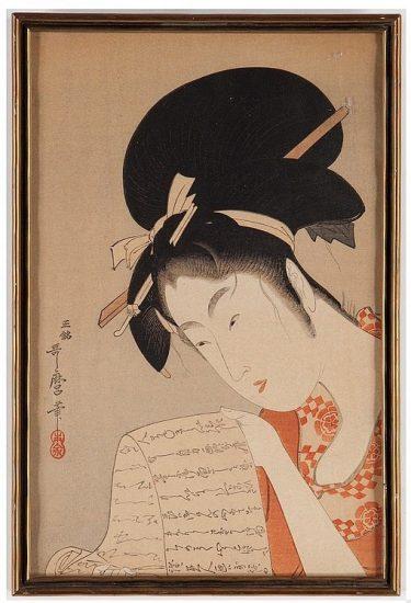 Золотой век японской графики
