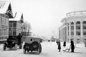 Петрозаводск, проспект Ленина. 1947-1949 гг. Фото Галины Санько