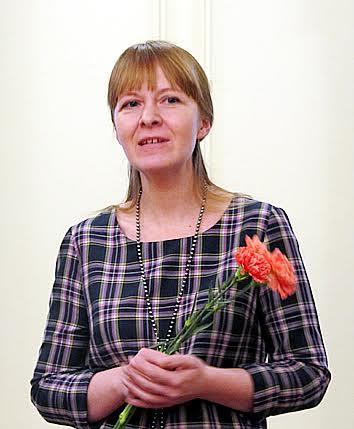 Автор выставки Екатерина Логвиненко