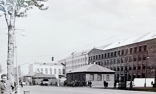 Вид на университет. 1960 год. Фото Е. Блейхмана