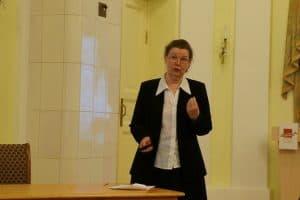 Первая лекция Елены Ициксон по архитектуре послевоенного Петрозаводска прошла с аншлагом