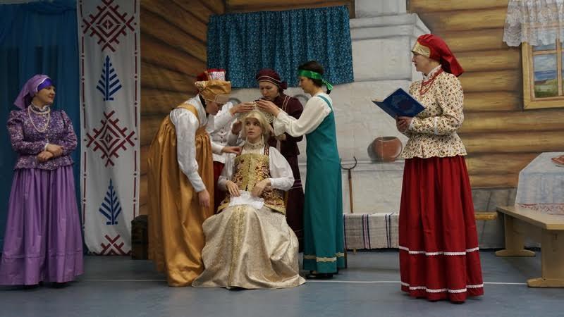 Обряд одевания невесты