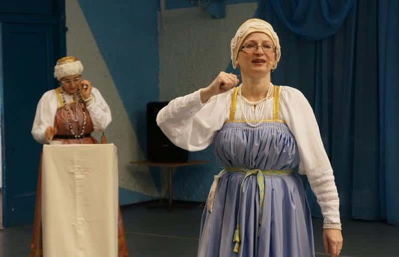 Сотрудники музея Ирина Устин и Марина Кошкина прекрасно справились с задачей ведущих