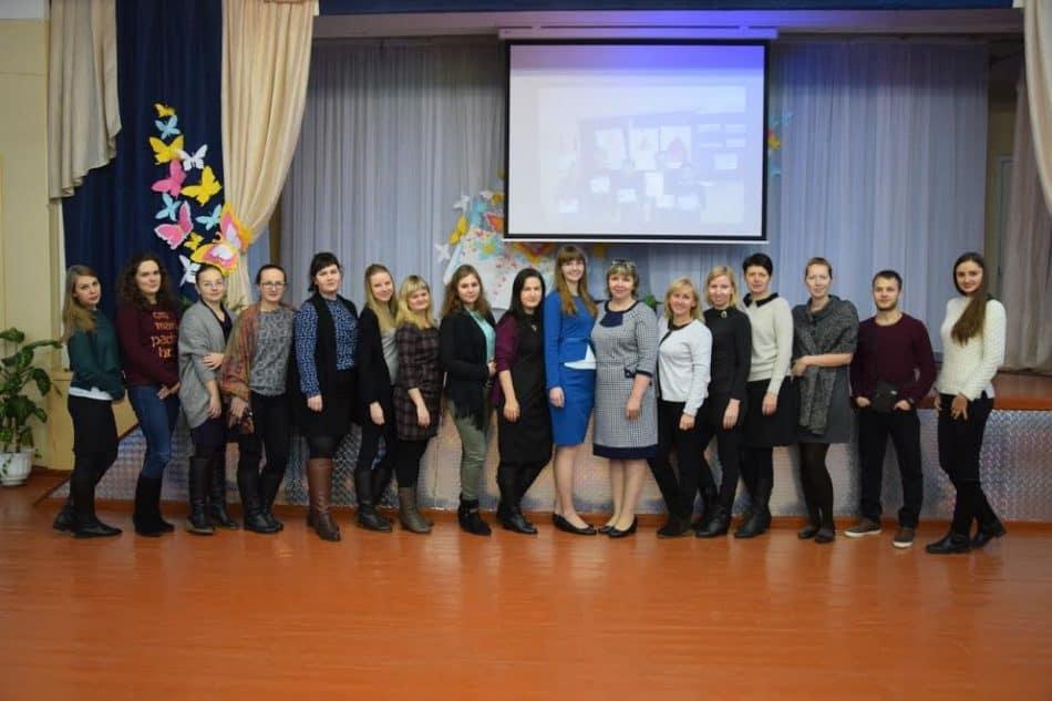 Молодые учителя Петрозаводска - участники семинара в Сегеже. Фото Марии Голубевой