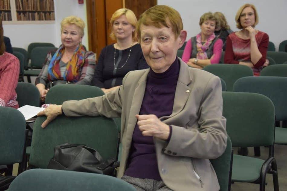 Народный учитель Карелии Нина Залысина