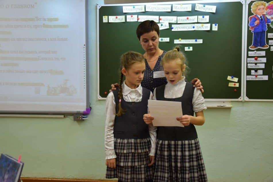 Открытые уроки в школе №5 Сегежи дает каждый учитель. Фото Марии Голубевой