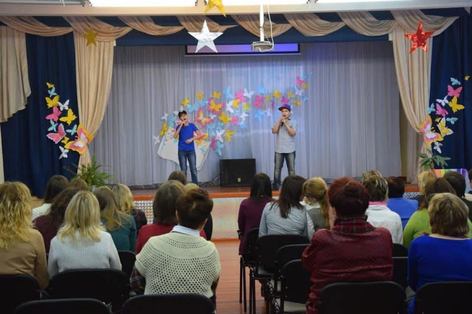 Школа приветствует участников семинара. Фото Марии Голубевой