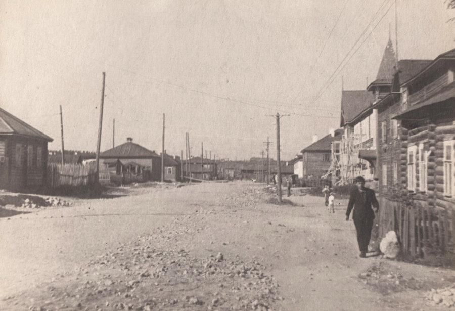 Вот так выглядел проспект Ленина в Петрозаводске в 1946 году