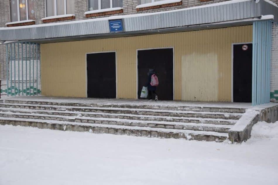 Школа №5 в Сегеже. Фото Марии Голубевой