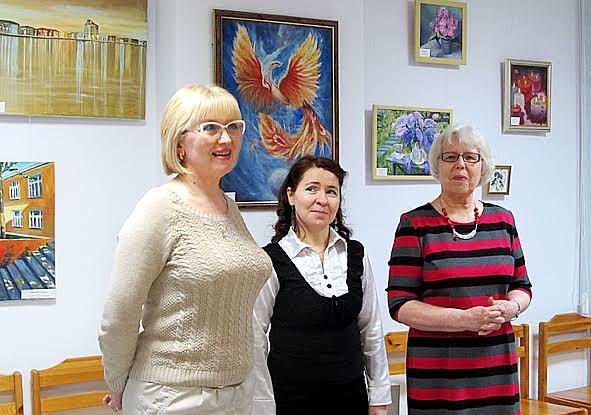 Слева направо: Надежда Кирпу, Светлана Пахомова, Елена Романова