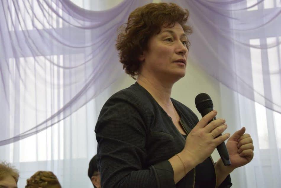 Замминистра образования Карелии Татьяна Васильева