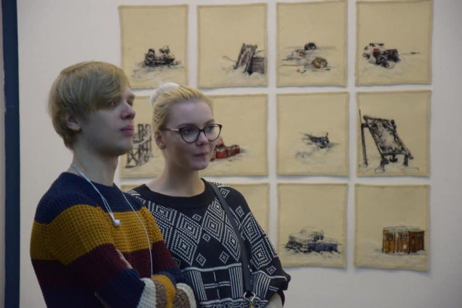 На выставке Элисон Маккриш в Петрозаводске
