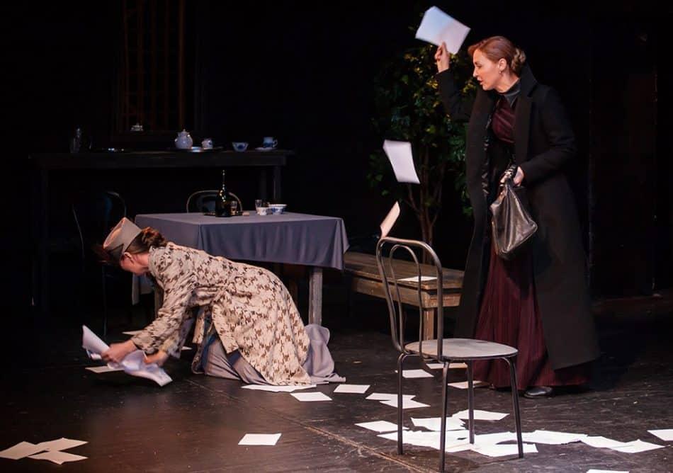 Сцена из спектакля. Фото Игоря Подгорного
