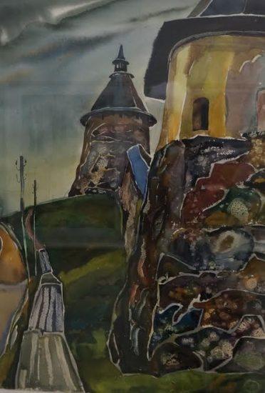 В Детской художественной школе Петрозаводска открылась юбилейная выставка Юрия Высоковских, посвященная его 75-летию