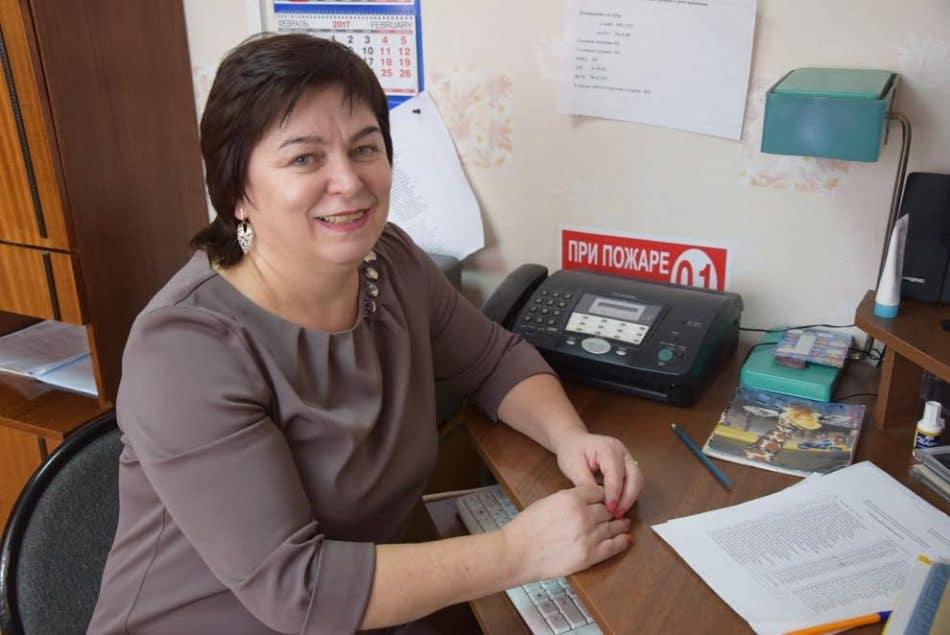 С.И. Марачук - директор Матросской школы