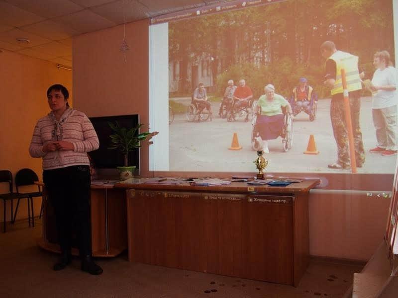 О туристско-рекреационном клубе рассказывает Елена Куриленко из Дома-интерната в поселке Партала