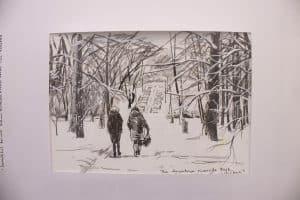 Петрозаводчане удивили канадскую художницу активным образом жизни